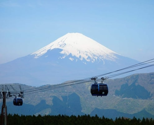 """The best view of Mount Fuji Owakudani's """"Valley of Hell"""", Hakone"""